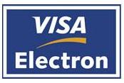 Esta tienda admite pagos mediante Visa Electron.