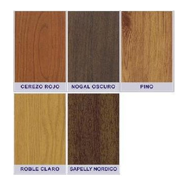 Frontal 1000x2100 color madera con aberturas para rejillas for Colores de madera