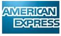 Esta tienda admite pagos mediante American Express.